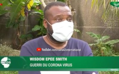 Guéri du Covis-19, Wisdom Epee Smith raconte son expérience