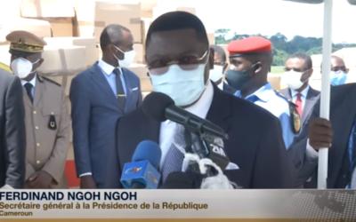 Ferdinand Ngoh Ngoh : « L'important don que nous recevons aujourd'hui du Maroc nous sera certainement d'une aide appréciable »