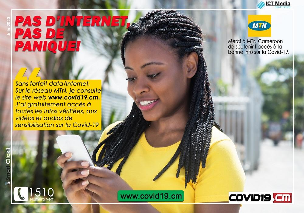 Message MTN Covid19.CM